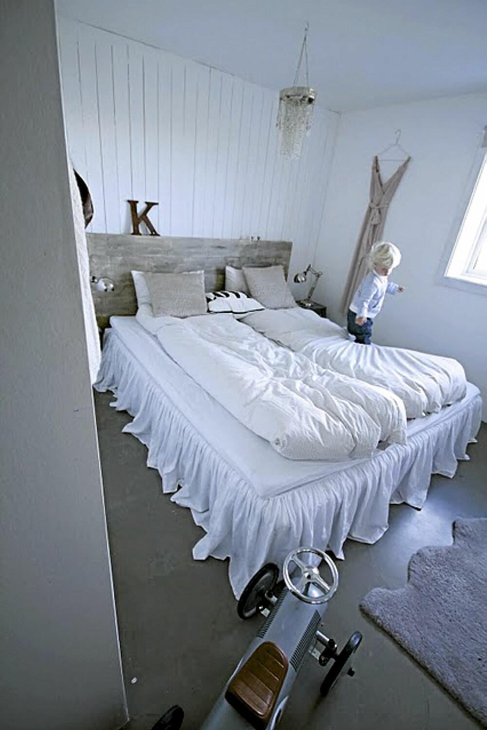 PRISBELØNT SOVEROM: Soverommet vant 2. plass i NIBs konkurranse om fineste soverom.