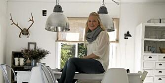 Hjemme hos interiørblogger Kjerstis lykke.