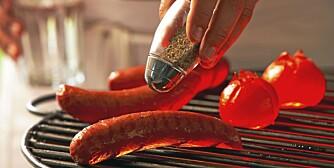 FORSIKTIG: Steker du på lav varme, minsker risikoen for at det skal utvikles kreftfremkallende stekemutagener.