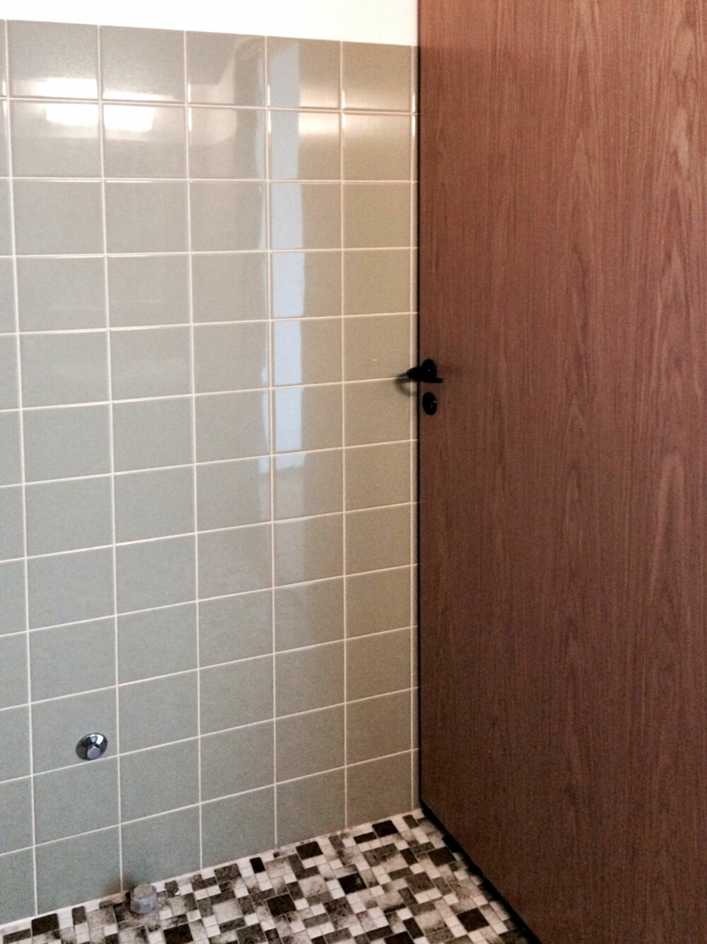 FØR: Badet var heller slitent! Her var det behov for oppgradering. FOTO:Privat