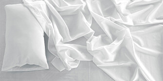 SVETT: Om natta skiller vi ut flere desiliter med svette, salter og skitt. Mye av dette blir igjen i madrassen.