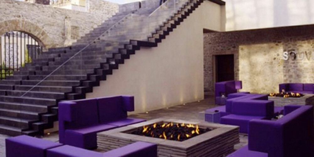 MEXICO: På denne baren har man blandet ny og gammel arkitektur.
