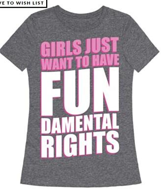 RETTIGHETER: En t-skjorte med mening.