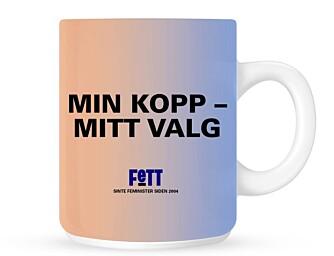 KOPP: Ordspill på godt norsk slagord.