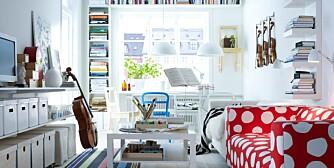 HOLD ORDEN: For å skape mer plass løfter ekspertene frem produkter som kan foldes, stables, flyttes, er enkle og lette, eller har innebygd oppbevaring.