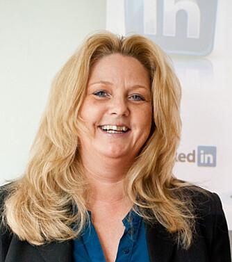 EKSPERT: Kathe Arnesen i Nordic Media Team  holder blant annet kurs om strategisk bruk av LinkedIn.