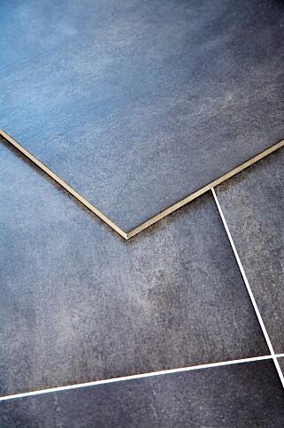 FLIS PÅ FLIS: I dag produseres det mange fliser som er beregnet på å legges oppå andre fliser.