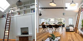 UTNYTT PLASSEN: Å bo på 85 m2 kan være en utfordring. Det gjelder å tenke smart når man innreder for å få plass til alt man skal leve med av ting og tang.