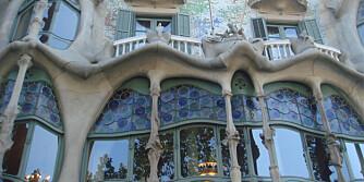 UNIK DESIGN: Har man vært i Barcelona, vil man minnes Gaudis unike bygninger.