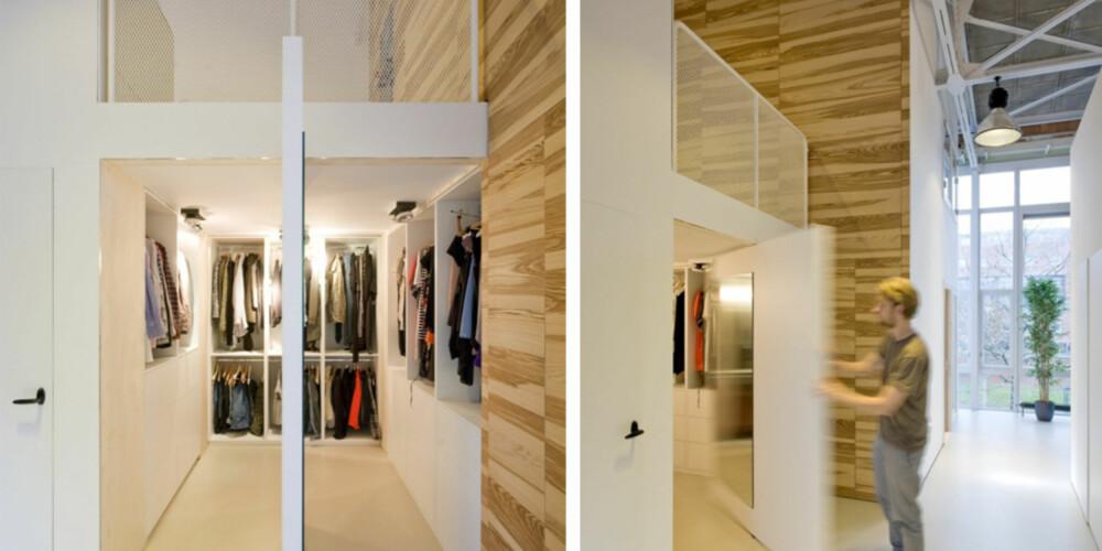 SONER: Arkitektene så for seg at familien kunne bruke huset på en måte som var skreddersydd til deres levemåte.