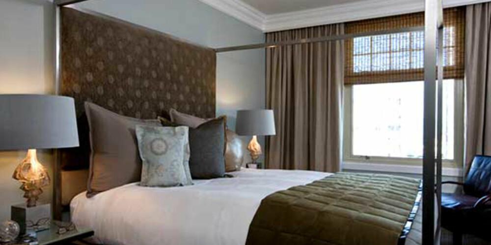HODEGJERDE: Dette hører med om du vil ha designer-hotell stil i sengen hjemme.