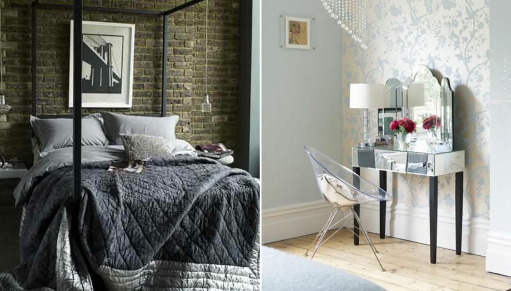 LEKKERT: Legg litt tid og penger i interiøret på soverommet for å skape en lekker hotell-look.