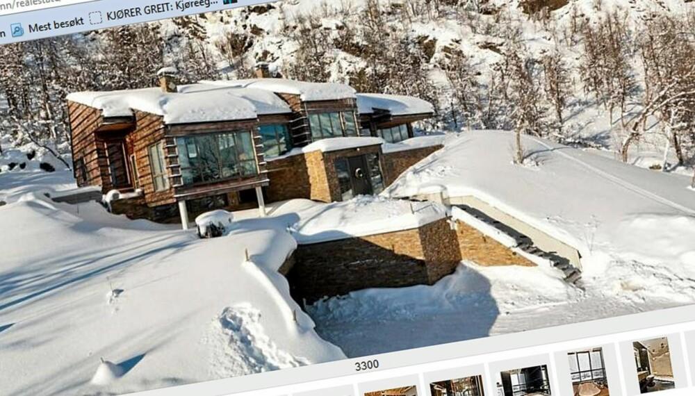 MEST SETT: Denne hytta i Hemsedal er mest sett på Finn.no så langt i år. Her finner du hele 10 rom og et bruksareal på  300 kvm. Byggeår 2008. Prisantydning  19,5 millioner kroner.