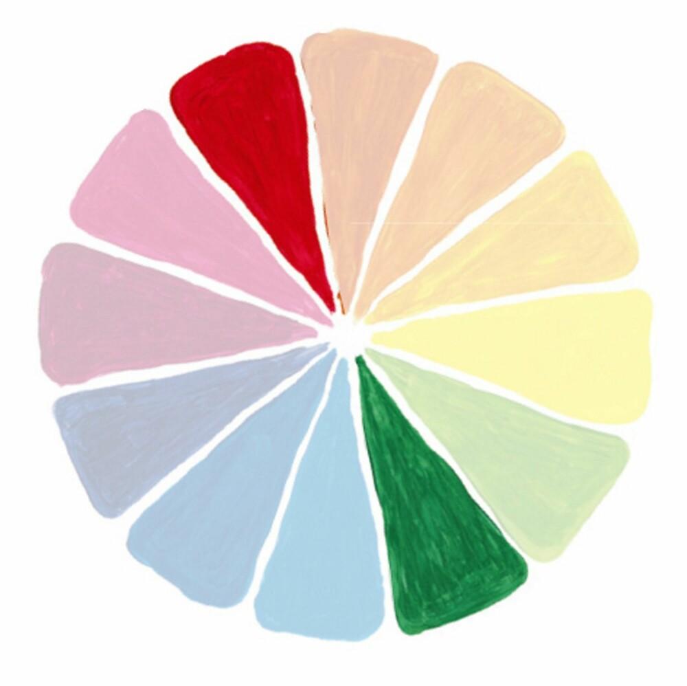 KOMPLEMENTÆRFARGER: Bruker du motstående farger i fargesirkelen kan du skape et spenstig uttrykk hjemme.
