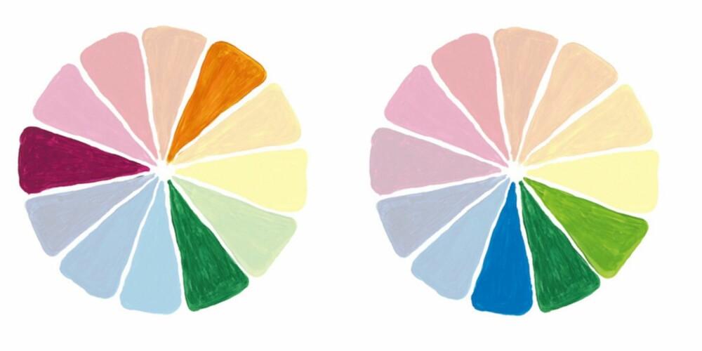 ANALOG OG TREKLANG: Disse måtene å kombinere fargene på kan du også gå for.
