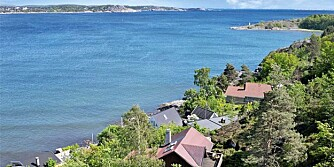 POPULÆRT HYTTEOMRÅDE: Her i Larvik ble det solgt 53 fritidsboliger ved sjøen i 2011. Det høyeste antallet i en enkeltkommune i fjor. Dernest følger Østfold kommunene Fredrikstad og Hvaler.