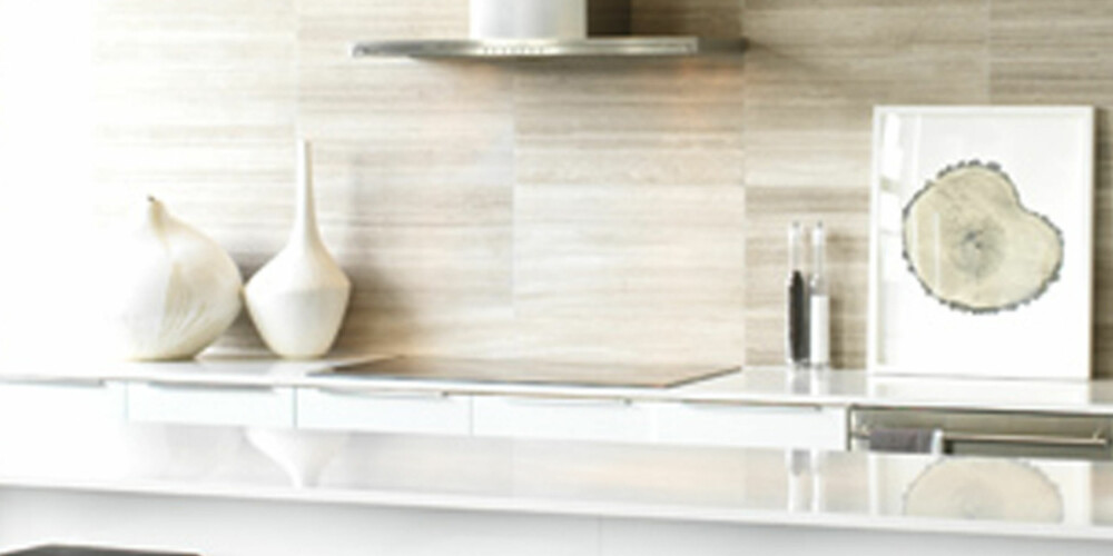 LAMINAT: Benkeplater i laminat er ofte rimeligere enn mange andre materialer, fås i en mengde farger og krever lite vedlikehold.