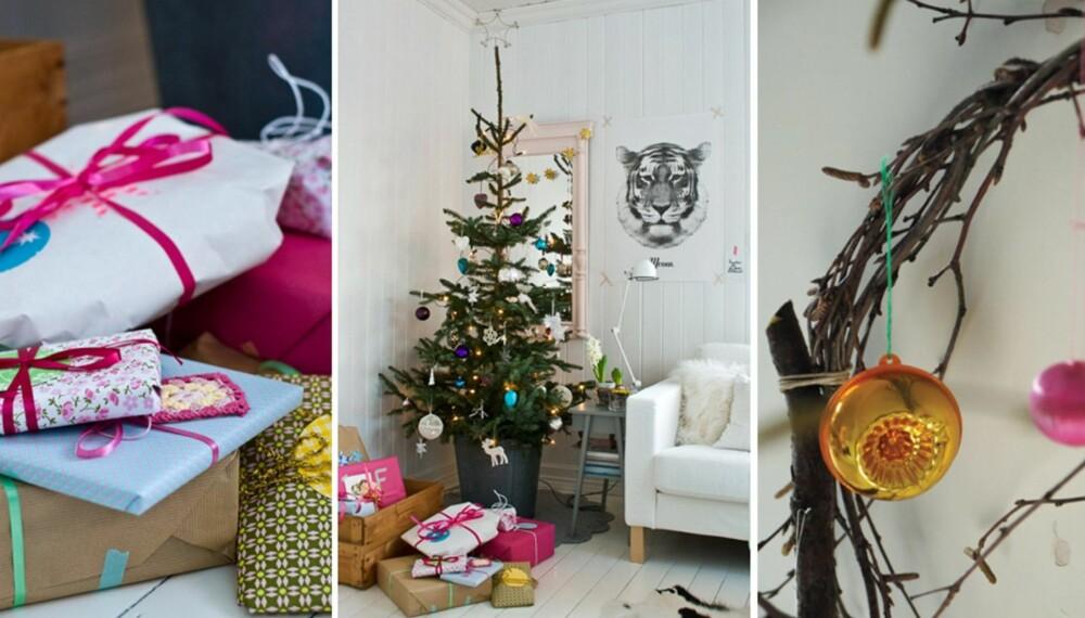 Nå er det bare et par dager i gjen til julaften. La deg inspirere av sju ulike bloggeres fantastiske julepyntede hjem!