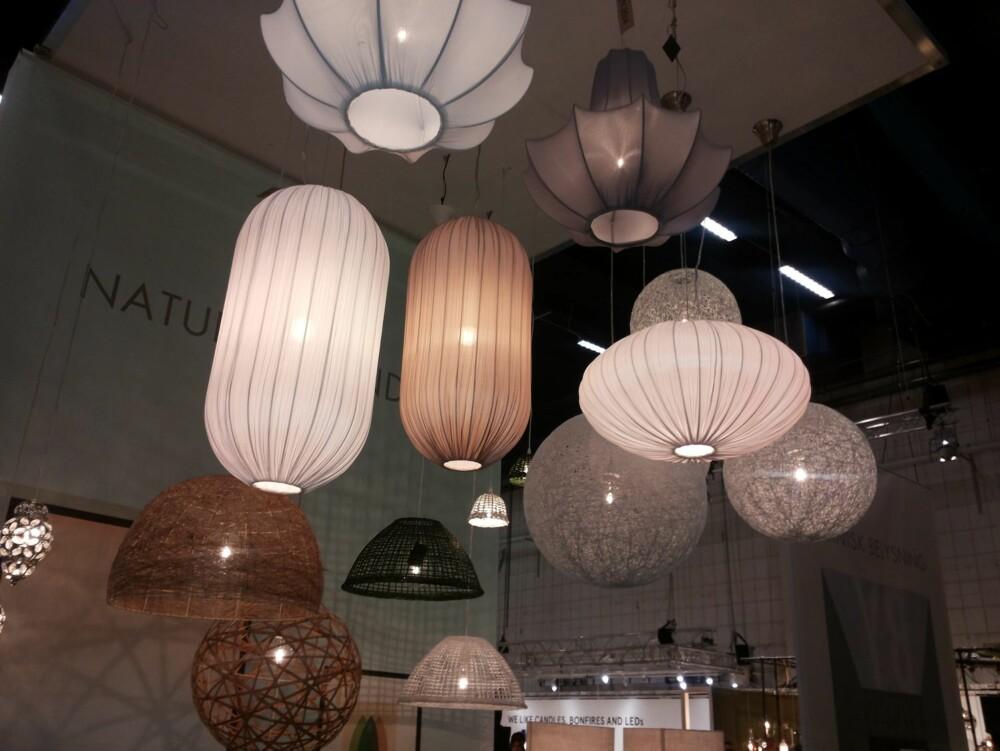BELYSNING: Belysning får mye oppmerksomhet for tiden og det kommer stadig spennende lampenyheter.