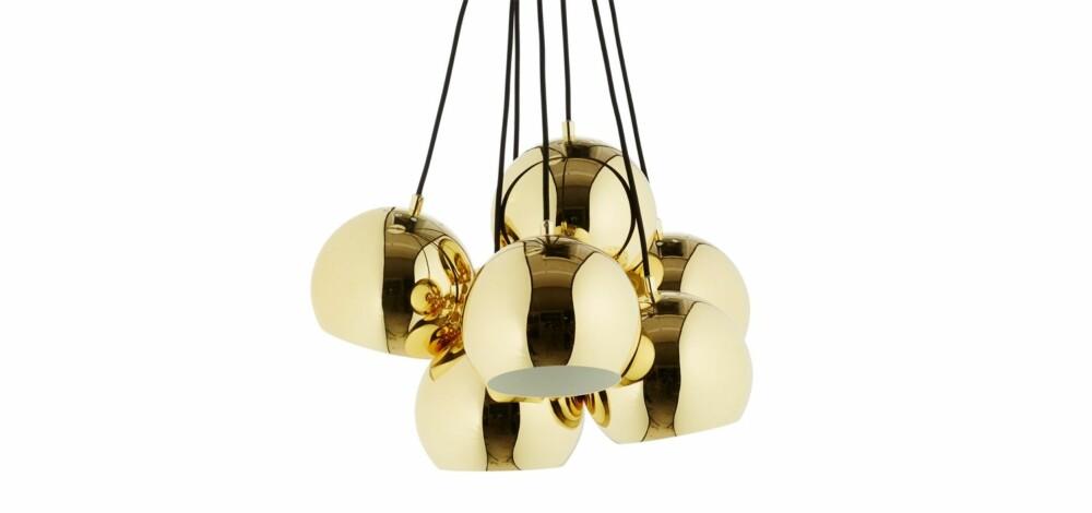 GULL: Med denne lampen fra Bolia vil interiøret gløde.