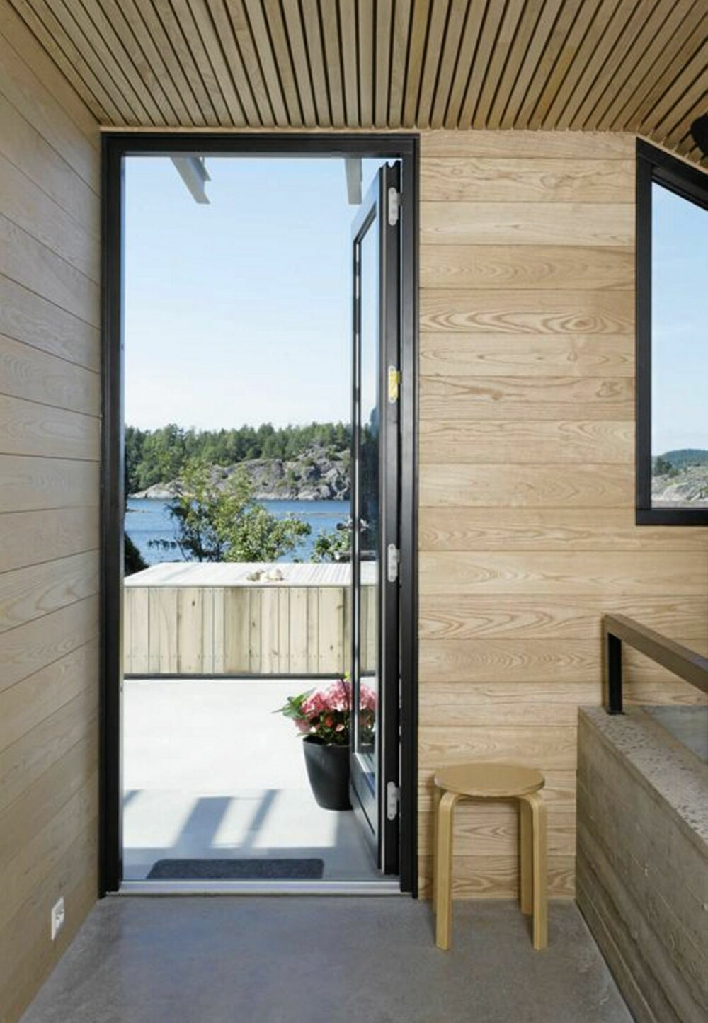 STORE VISJONER: Innefra toppen av huset med skråtaket er det også utmerket utsikt over landskapet.