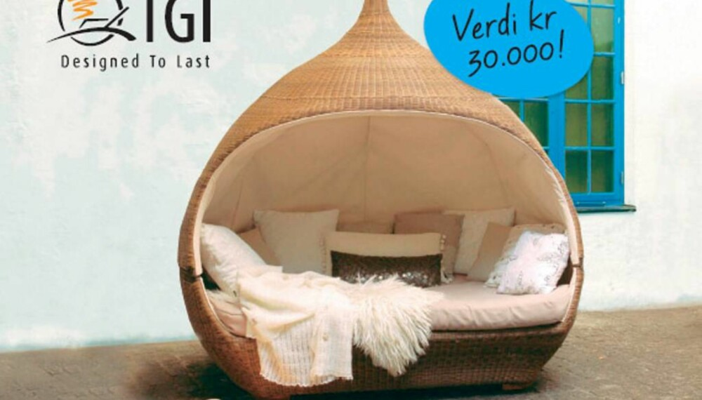 """Nirvana daybed"" fra TGI Furniture"