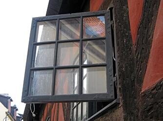 SLIPP SOMMEREN INN: Loftet har derimot godt av en utlufting når det blir varmere i været.