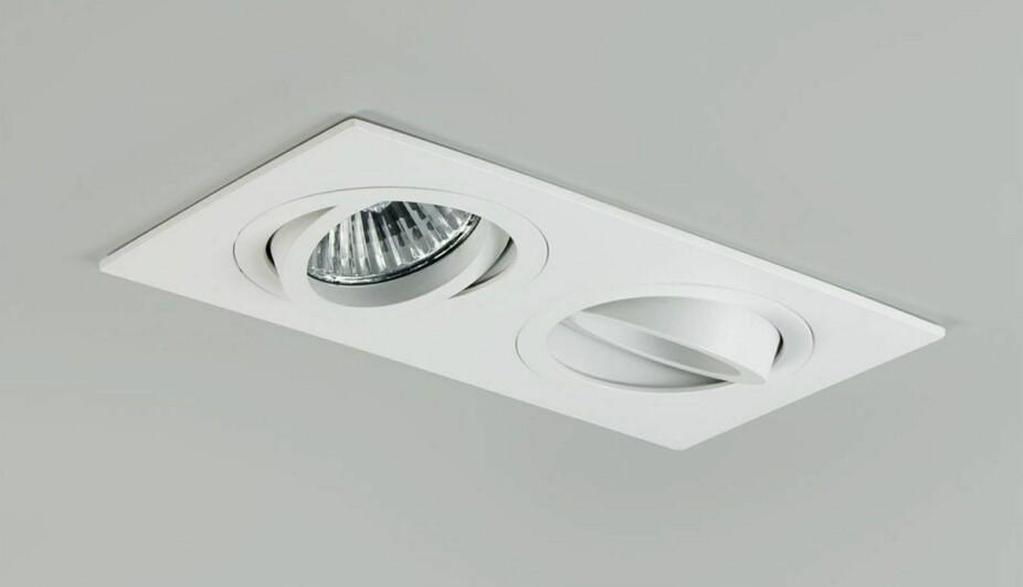 JUSTERBAR: Ønsker du at lyset skal treffe noe spesielt, som et bilde på veggen, bør du velge justerbare downlights.