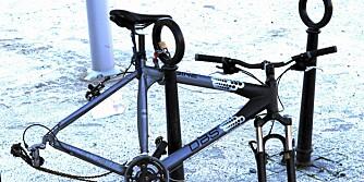 SYKKELTYVERI: Innboforsikringen dekker i utgangspunktet tap av sykkel opp til 5000 kroner, men en en tilleggsforsikring kan du få dekket både det dobbelt og tredobbelte.