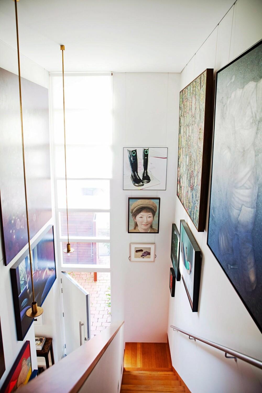 PRIORITERES IKKE: Trappoppgangen er ofte et sted som bortprioriteres. Men kanskje kan det være verdt å gi disse kvadratmeterne litt ekstra omtanke.