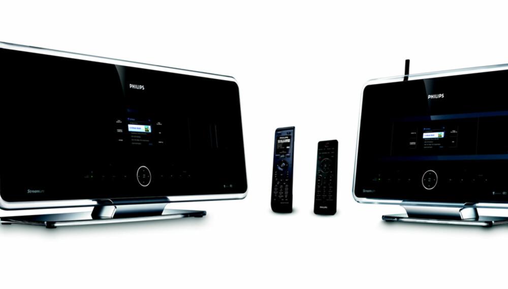 TRÅDLØST: Hør mp3 og CD'er i seks ulike rom på en gang med WACS7500.