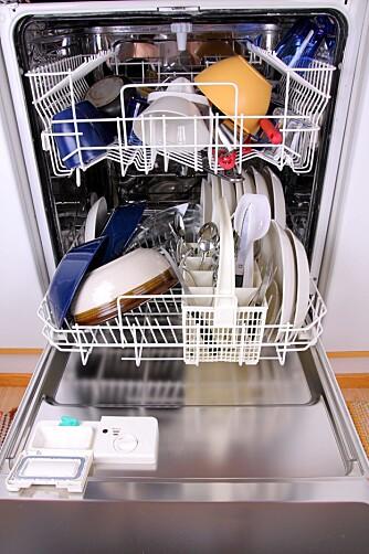 Den integrerte oppvaskmaskinen er kjøpers eiendom.