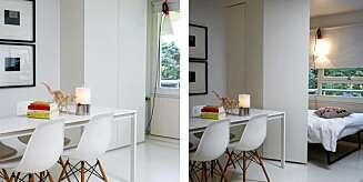 Smarte romløsninger i arkitektens hytte - Arkitektur