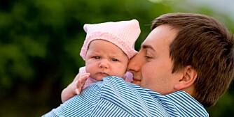 HJEMMEPAPPA: Menn som blir fedre etter 1. juli neste år, får ti uker permisjon sammen med babyen.