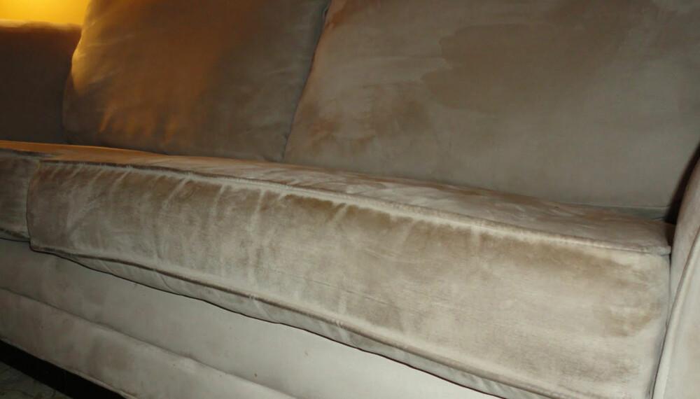 Topnotch Mikrofiber-sofa før og etter - Bolig ZP-16