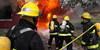 BOLIGBRANN: Årlig omkommer rundt 60 mennesker i brann i Norge. Desember er høysesong for brann.