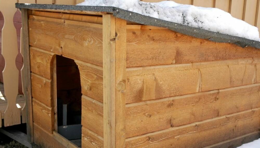 NYBYGG: Dette er hundehuset som Sel kommune mener er verdt 25 000 kroner.