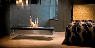EFFEKTIV: Energien går tvers inn i rommet som varme, i stedet for å bli borte gjennom pipa.