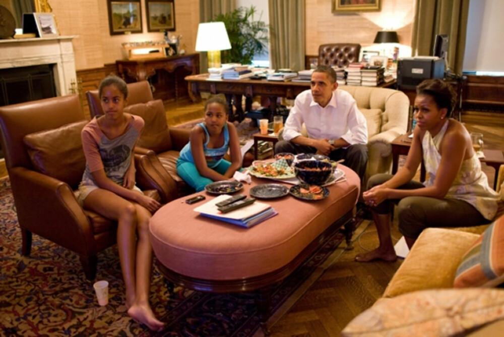 STORSTUE: Michelle Obama hyret inn en kjent interiørdesigner for å hjelpe seg med å pusse opp Det Hvite Hus.