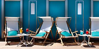 """OLD HOLLYWOOD: På Five Hotel i Cannes nyter du årets """"syden"""" ferie i sann kjendisstil."""