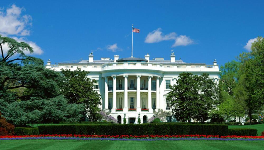 DET HVITE HUS: Det ble ikke Romneys tur å flytte inn her denne gangen. Obama vant presidentvalget igjen.