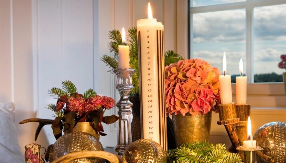 JULEDEKOR: Jul er tradisjoner, men det er gøy å finne på noe nytt også.