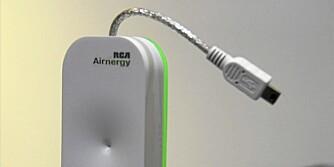 BLØFF? Airnergy Charger fra RCA, som henter strøm fra lufta, eller bare en godt lagd juksedings?