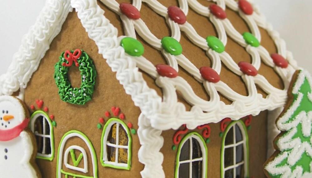 PEPERKAKEHUS: SINTEF Byggforsk har laget en detaljert bruksanvisning for hvordan bygeg det perfekte pepperkakehuset.