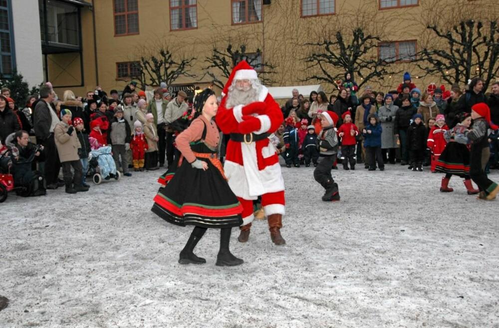 Julemarked på Norske Folkemuseum på Bygdøy.