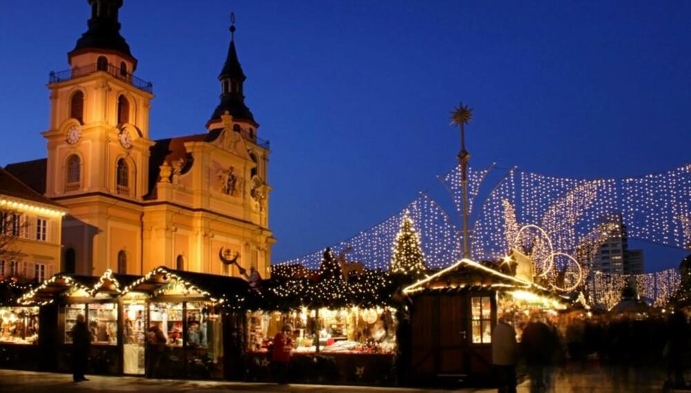 Julemarked i Tyskland.