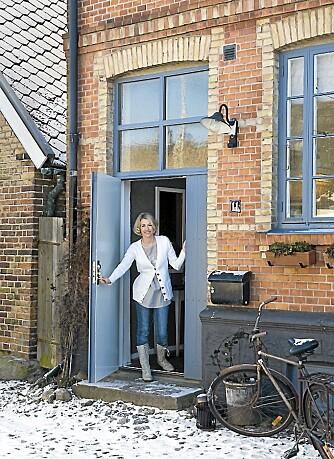 Bli med hjem til Feng Shui-ekspert Jannice Wistrands teglsteinshus som opprinnelig var kornlager.
