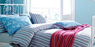 SENGETØY: Behagelig sengetøy med motiv fra sesongen.