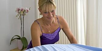 SENGETØYSKIFT: Nesten halvparten av Klikks lesere synes ikke det er for sjelden å skifte sengetøy bare én gang i måneden.