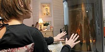 NOK VARME I HUSET: Det er flere ting du kan gjøre  for å få varmen opp når det blir altfor kaldt ute.